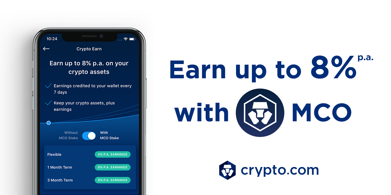 MCO Added to Crypto Earn, CRO Airdrop Update