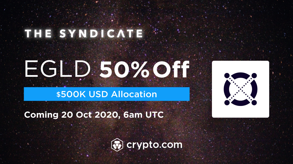 Crypto.com Exchange To List <bold>Elrond</bold> eGold (EGLD)
